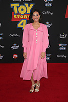 "HOLLYWOOD, CA - JUNE 11: Tiffany Smith, at The Premiere Of Disney And Pixar's ""Toy Story 4"" at El Capitan theatre in Hollywood, California on June 11, 2019. <br /> CAP/MPIFS<br /> ©MPIFS/Capital Pictures"