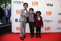 REECE CODY, CALLAN FARRIS AND AIDEN AKPAN - RED CARPET OF THE FILM 'KINGS' - 42ND TORONTO INTERNATIONAL FILM FESTIVAL 2017