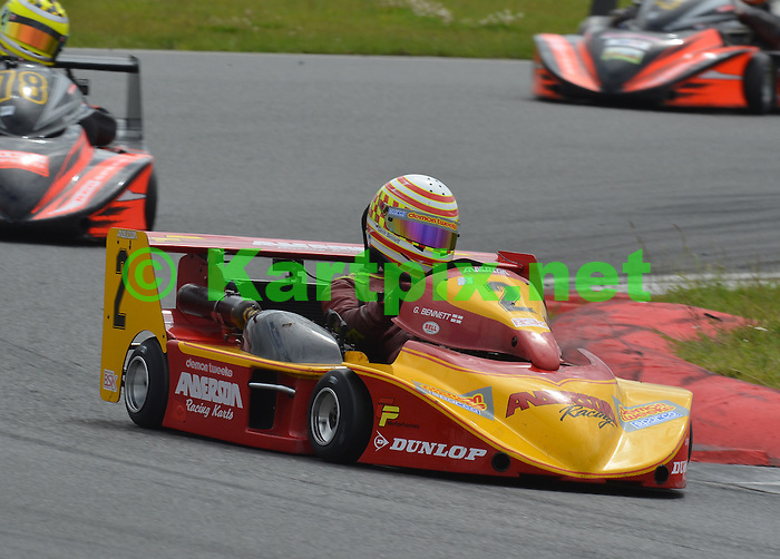CIK-FIA 2012 European Superkart Championship.MSA British Superkart Grand Prix