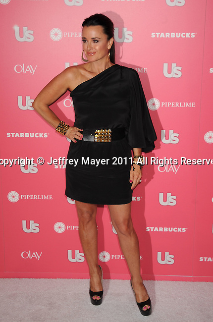 HOLLYWOOD, CA - APRIL 26: Kyle Richards  attends the Us Weekly Hot Hollywood Party at Eden on April 26, 2011 in Hollywood, California.
