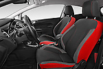 Front seat view of a 2014 Ford FIESTA Sport 3 Door Hatchback 2WD Front Seat car photos