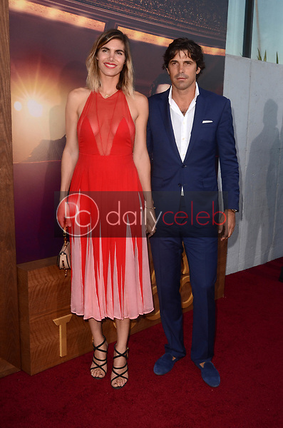 """Delfina Blaquier, Nacho Figueras<br /> at """"The Last Tycoon"""" Red Carpet Premiere Screening, Harmony Gold Theater, Los Angeles, CA 07-27-17<br /> David Edwards/DailyCeleb.com 818-249-4998"""