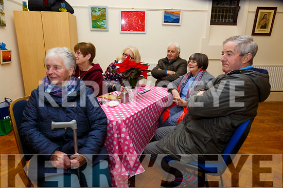 Ballybunion Active Retirement Party: Listening to the music  at the Ballybunion Active Retirement Christmas music concert at the Old Convent, Doon Rd. Ballybunion on Wednesday 4th December were Maureen Lawlor, Peggy Murphy, Christine Hellard, Phil Murphy & Geraldine & Tom Scanlan.