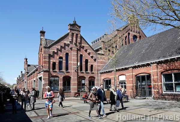 Nederland Amsterdam 2016 05 01.  De Westergasfabriek. Foto Berlinda van Dam / Hollandse Hoogte