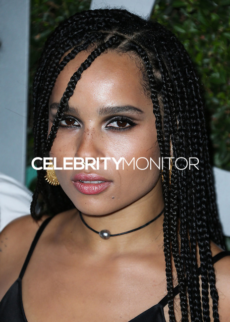 BEVERLY HILLS, CA, USA - OCTOBER 02: Zoe Kravitz arrives at Michael Kors Launch Of Claiborne Swanson Franks's 'Young Hollywood' Book held at a Private Residence on October 2, 2014 in Beverly Hills, California, United States. (Photo by Xavier Collin/Celebrity Monitor)