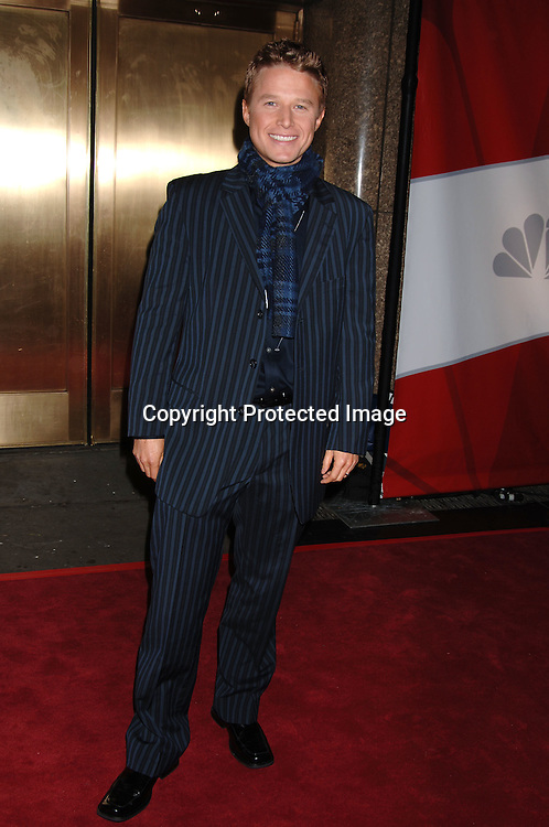 Billy Bush ..arriving for The NBC Upfront announcement of their Fall 2006-2007 Schedule on May 15, 2006 at Radio City Music ..Hall...Robin Platzer, Twin Images