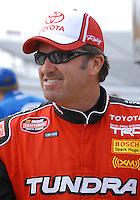 Mar 31, 2007; Martinsville, VA, USA; Nascar Craftsman Truck Series driver Mike Skinner (5) prior to the Kroger 250 at Martinsville Speedway. Mandatory Credit: Mark J. Rebilas