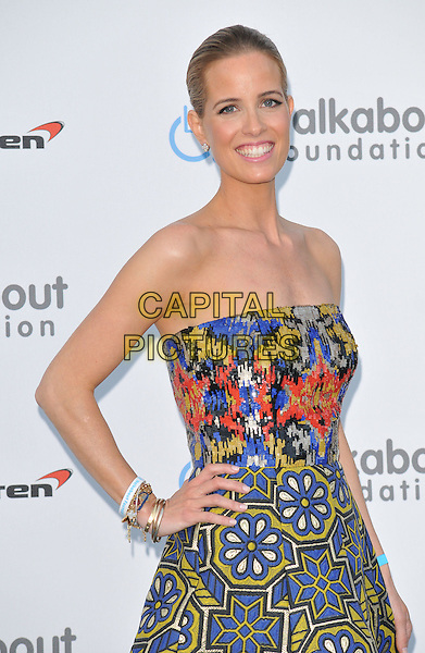 LONDON, ENGLAND - JUNE 27: Carolina Gonzalez Bunster attends the Walkabout Foundation's Inaugural Gala, Natural History Museum, Cromwell Rd., on Saturday June 27, 2015 in London, England, UK. <br /> CAP/CAN<br /> &copy;Can Nguyen/Capital Pictures