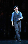 """Jeremy Jordan """"Jack Kelly"""" stars in The Newsies - The Newsies Fan Day at The Paper Mill Playhouse on October 2, 2010 in Millburn, New Jersey with current cast members and cast members of the film. It was a day of events to all devoted fans of Newsies - Radio Disney at 4 pm, executive reception for members of the original cast of Newsies (the movie) followed by a talkback, Q&A in the theater - all this followed by the evening performance of Newsies with the Curtain Call, old cast meets new cast and a cast photo of all. (Photo by Sue Coflin/Max Photos)"""