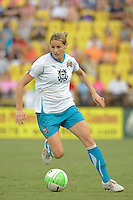 Kelly Smith of Marta XI during the Women's Professional Soccer (WPS) All-Star Game at KSU Stadium in Kennesaw, GA, on June 30, 2010.