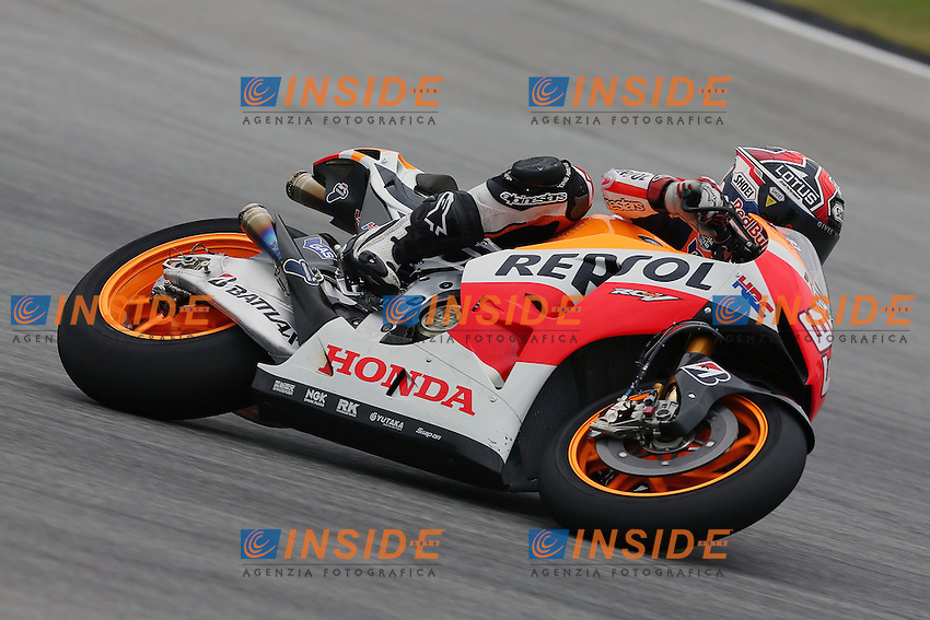 .07-02-2013 Kuala Lumpur (MAL).Motogp world championship.in the picture: Marc Marquez - Repsol Honda team .Foto Semedia/Insidefoto.ITALY ONLY