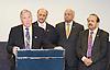 Liberal Democrat Friends of Pakistan <br /> reception<br /> Hosted by the High Commission of Pakistan<br /> 18th September 2011<br /> Jurys Hotel, Birmingham, Great Britain <br /> <br /> <br /> Wajid Shamsul Hasan <br /> High Commissioner for Pakistan <br /> <br /> <br /> Lord Qurban Hussain of Luton <br /> <br /> <br /> Qassim Afzal<br /> Liberal Democrat, Manchester Gorton<br /> <br /> Photograph by Elliott Franks