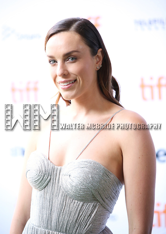 Jessica McNamee attends the 'Battle of the Sexesl' premiere during the 2017 Toronto International Film Festival at Ryerson Theatre on September 10, 2017 in Toronto, Canada.