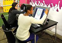 Skills Masters beurs in Rotterdam Ahoy. Banenbeurs/ Beroepskeuze beurs voor VMBO en MBO  leerlingen. Leerlingen kunnen kennismaken met diverse beroepen. Vormgeving op een computer