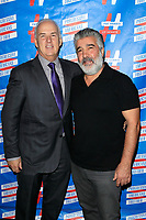 LOS ANGELES - SEP 25: Pat Harris, Hratch Manuelian at 'Pat Harris' California Democratic U.S. Senate run 2018 kick off' at Catalina Jazz Club Bar & Grill on September 25, 2017 in Hollywood, California