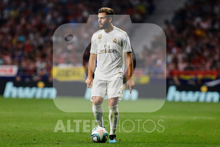 Nacho Fernandez of Real Madrid during La Liga match between Atletico de Madrid and Real Madrid at Wanda Metropolitano Stadium in Madrid, Spain. September 28, 2019. (ALTERPHOTOS/A. Perez Meca)