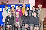 Attending the Rathmore Credit Union AGM in the Rathmore Community Centre on Thursday evening was front row l-r: Cieran Crowley, Jerry Long, Mick Long, John McCarthy. Back row: Mary O'Halloran, Christine Sheehan, Kathleen O'Rahilly, John Mahony, Abina O'sullivan, Eileen Buckley and Neilie Mahony..