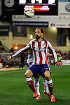 Atletico de Madrid´s Juanfran during 2014-15 La Liga match between Atletico de Madrid and Valencia CF at Vicente Calderon stadium in Madrid, Spain. March 08, 2015. (ALTERPHOTOS/Luis Fernandez)