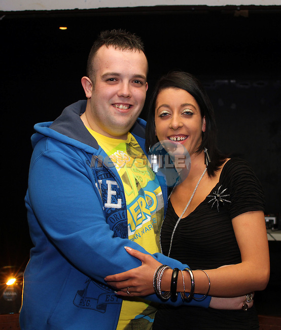 Sinead Smith and Jason Dyas's joint 21st in The Purple Room...(Photo credit should read Jenny Matthews www.newsfile.ie)....This Picture has been sent you under the conditions enclosed by:.Newsfile Ltd..The Studio,.Millmount Abbey,.Drogheda,.Co Meath..Ireland..Tel: +353(0)41-9871240.Fax: +353(0)41-9871260.GSM: +353(0)86-2500958.email: pictures@newsfile.ie.www.newsfile.ie.
