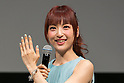 Singer and actress Sayaka Kanda speaks during the Princess Beauty Festival for the 35th anniversary of 25ans women's magazine on October 3, 2015, Tokyo, Japan. The event introduces beauty methods and the latest cosmetic products with celebrities and guests. (Photo by Rodrigo Reyes Marin/AFLO)