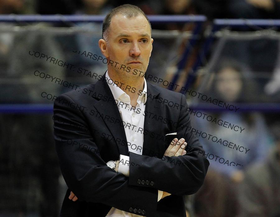 Kosarka ABA League season 2015-2016<br /> Crvena Zvezda v Cedevita<br /> Head coach Veljko Mrsic<br /> Beograd, 04.01.2015.<br /> foto: Srdjan Stevanovic/Starsportphoto&copy;