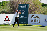 Callum Hill (SCO) on the 3rd during Round 2 of the Oman Open 2020 at the Al Mouj Golf Club, Muscat, Oman . 28/02/2020<br /> Picture: Golffile | Thos Caffrey<br /> <br /> <br /> All photo usage must carry mandatory copyright credit (© Golffile | Thos Caffrey)