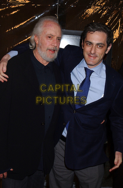 "ROBERT TOWNE (DIRECTOR) & GUEST.AT the Premiere Of Paramount Classics ""Ask The Dust"",.Los Angeles, California, USA, 2nd March 2006..half length.Ref: ADM/GB.www.capitalpictures.com.sales@capitalpictures.com.©Gary Boas/AdMedia/Capital Pictures."