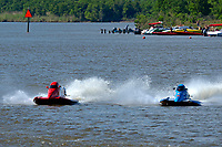 Frame 10: Final lap of heat race 2: Jeremiah Mayo (#8), Chris Hughes (#17)       (SST-45)