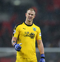 Burnley's Joe Hart acknowledges the fans at the end of the game<br /> <br /> Photographer Rob Newell/CameraSport<br /> <br /> The Premier League - Tottenham Hotspur v Burnley - Saturday 15th December 2018 - Wembley Stadium - London<br /> <br /> World Copyright &copy; 2018 CameraSport. All rights reserved. 43 Linden Ave. Countesthorpe. Leicester. England. LE8 5PG - Tel: +44 (0) 116 277 4147 - admin@camerasport.com - www.camerasport.com