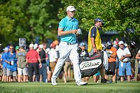 Matt Fitzpatrick (ENG) heads down 12 during 1st round of the 100th PGA Championship at Bellerive Country Cllub, St. Louis, Missouri. 8/9/2018.<br /> Picture: Golffile | Ken Murray<br /> <br /> All photo usage must carry mandatory copyright credit (© Golffile | Ken Murray)