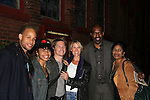 Cast of Under Fire, the musical - a part of the New York Musical Theatre Festival on October 4, 2009 at The Theatre of St. Clements, New York City, New York. (Photo by Sue Coflin/Max Photos)