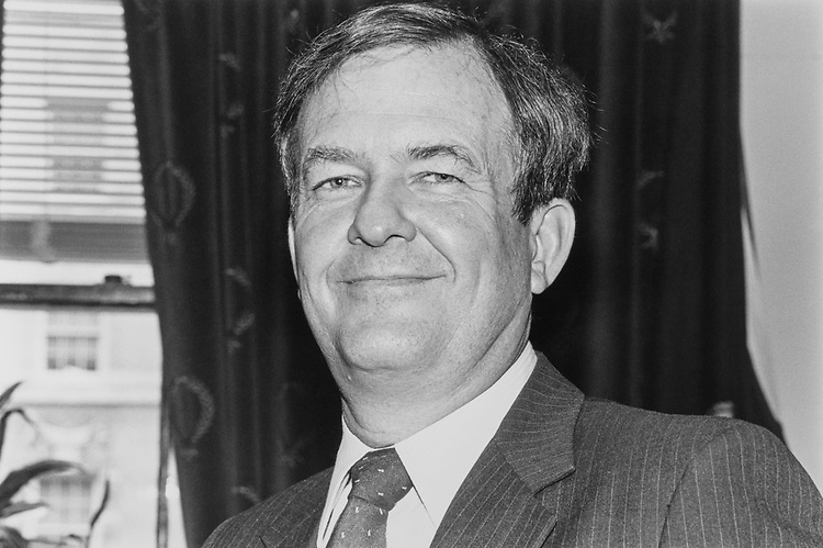 Portrait of Rep. Richard H. Stallings, D-Idaho, in February 1992. (Photo by Laura Patterson/CQ Roll Call)