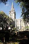 Spire and nave east church Kirk of Saint Nicholas, Aberdeen, Scotland