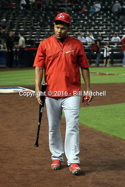 Carlos Martinez - 2016 St. Louis Cardinals (Bill Mitchell)