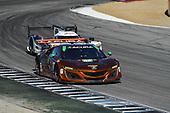 IMSA WeatherTech SportsCar Championship<br /> AMERICA'S TIRE 250<br /> Mazda Raceway Laguna Seca<br /> Monterey, CA USA<br /> Sunday 24 September 2017<br /> 93, Acura, Acura NSX, GTD, Andy Lally, Katherine Legge<br /> World Copyright: Richard Dole<br /> LAT Images<br /> ref: Digital Image DSC_3826