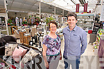 Bernie Falvey and Nathan McDonnell of Ballyseedy Home and Outing Living Centre