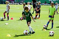 GRONINGEN - Voetbal, Opendag FC Groningen, seizoen 2018-2019, 05-08-2018, clinic voor jeugd