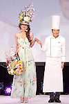 "March 9, 2013, Tokyo, Japan - Model and Patisserie Toshihiko Yoroizuka greet to the audience at Tokyo Sweets Collection 2013. Japan's top Patisseries demonstrate the new trend and hight technique and sophisticated sensibility to the audience at ""Tokyo Sweets Collection 2013"" at Prince Hotel in Shinagawa. It is the fist time that organizers announce the trend of the sweets in 2013 during the event. The event presents a catwalk which audience can enjoy the collaboration of sweets and fashion show. (Photo by Rodrigo Reyes Marin/AFLO)"