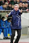 10.03.2011,  BayArena, Leverkusen, GER, UEFA EL, Bayer Leverkusen vs Villarreal C.F. , Achtelfinale, im Bild:  Jupp Heynckes (Trainer Leverkusen)  Foto © nph / Mueller