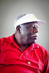 "Augusta-native John Elan reminisces about the early days of integration at the Augusta Municipal Golf Course, ""The Patch,"" on the day of the African American Golfers Tournament in Augusta, Georgia April 7, 2010. He has been playing at the local course, which is facing a possible closing, since 1960. ""We have some blood and some sweat and tears at this golf course,"" he said. He still plays at the course every chance he gets."