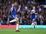 Cesar Azpilicueta of Chelsea during the premier league match at the Stamford Bridge stadium, London. Picture date 30th September 2017. Picture credit should read: Robin Parker/Sportimage