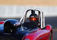 Jul 28, 2017; Sonoma, CA, USA; NHRA super gas driver Steve Wellman during qualifying for the Sonoma Nationals at Sonoma Raceway. Mandatory Credit: Mark J. Rebilas-USA TODAY Sports