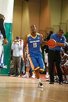 April 9, 2011 - Hampton, VA. USA;  Jamal Ferguson participates in the 2011 Elite Youth Basketball League at the Boo Williams Sports Complex. Photo/Andrew Shurtleff