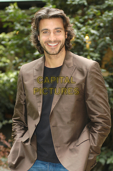 "DANIELE LIOTTI.Photocall for the film ""L'Inchiesta"" in Rome, Italy..March 29th, 2007.half length jacket brown beard facial hair .CAP/CAV.©Luca Cavallari/Capital Pictures"