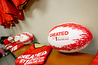 Picture by Allan McKenzie/SWpix.com - 26/02/2019 - Rugby League - CreatedBy RLWC2021 - Castleford Tigers Women - DeLacy Academy, Knottingley, England - Bibs, balls, branding.