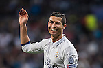 Cristiano Ronaldo of Real Madrid reacts during the 2016-17 UEFA Champions League match between Real Madrid and Legia Warszawa at the Santiago Bernabeu Stadium on 18 October 2016 in Madrid, Spain. Photo by Diego Gonzalez Souto / Power Sport Images