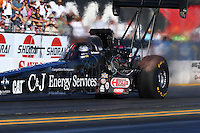 Jul. 25, 2014; Sonoma, CA, USA; NHRA top fuel driver Bob Vandergriff Jr during qualifying for the Sonoma Nationals at Sonoma Raceway. Mandatory Credit: Mark J. Rebilas-