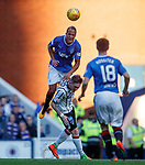 Bruno Alves flies through the air