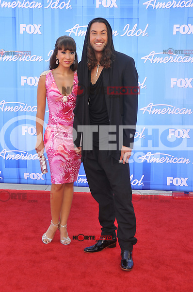 American Idol 2012 Finale Results Show at Nokia Theatre L.A. Live on May 23, 2012 in Los Angeles, California. ©mpi35/MediaPunch Inc. Pictured- Diana DeGarmo and Ace Young