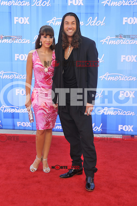 American Idol 2012 Finale Results Show at Nokia Theatre L.A. Live on May 23, 2012 in Los Angeles, California. © mpi35/MediaPunch Inc. Pictured- Diana DeGarmo and Ace Young